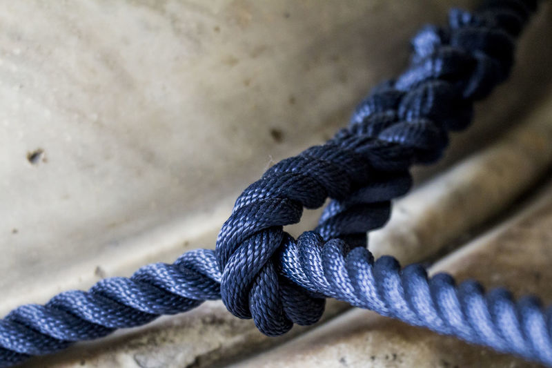 Blue Bond Bonding Close-up Connection Cropped Detail Details Fabric Fabric Detail Fabrics Focus On Foreground Knot Link Macro Macro Photography Macro_collection Part Of Relashionship Rope Ropes Selective Focus Textile Textiles Tie