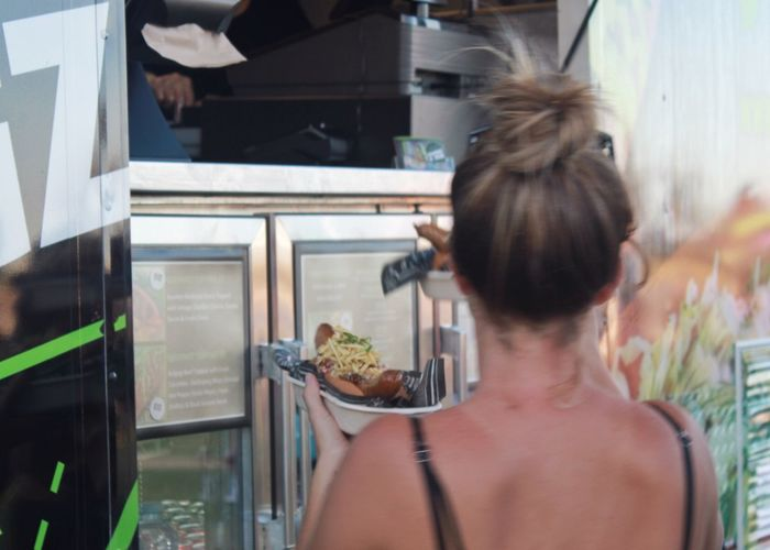 Food truck purchase Foodtruck Purchase Food Food And Drink Food Truck Takeaway Small Business Fair Female Woman From Behind Backview Vendor Buyer Showcase: February Food Trucks Show Us Your Takeaway! Up Close Street Photography Telling Stories Differently Street Food Worldwide The Portraitist - 2016 EyeEm Awards The Street Photographer - 2016 EyeEm Awards Live Love Shop Women Around The World