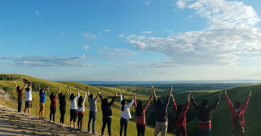 Yes!!! We are united for Our King!! Sumba Barat Daya Indonesia_photography Nature NTT Sumba Beauty In Nature INDONESIA