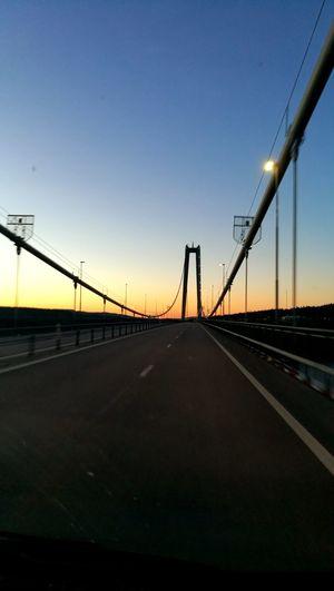 Night Sky Bridge View Summer ☀