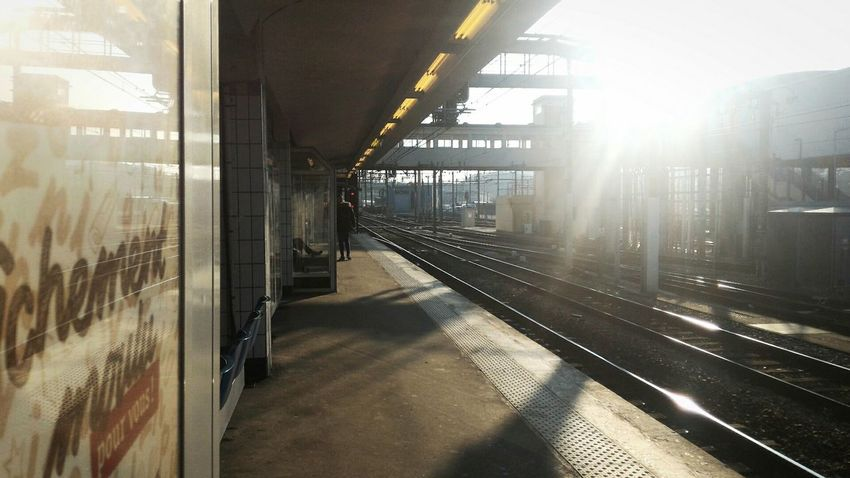 Massy Streetphotography Train Station Colors Light And Shadow