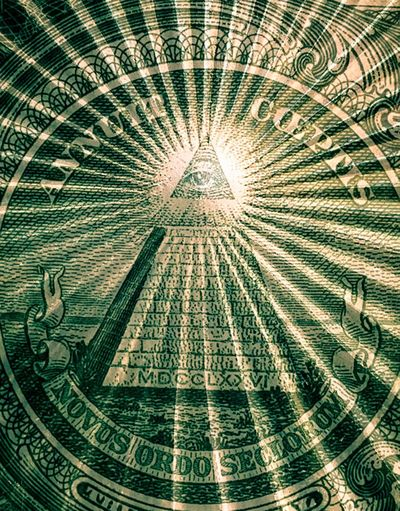 Novus Ordo Seclorum  Photographic Approximation Building The Unwanted Future The Future Is After Now I'll Give You A Buck For It!