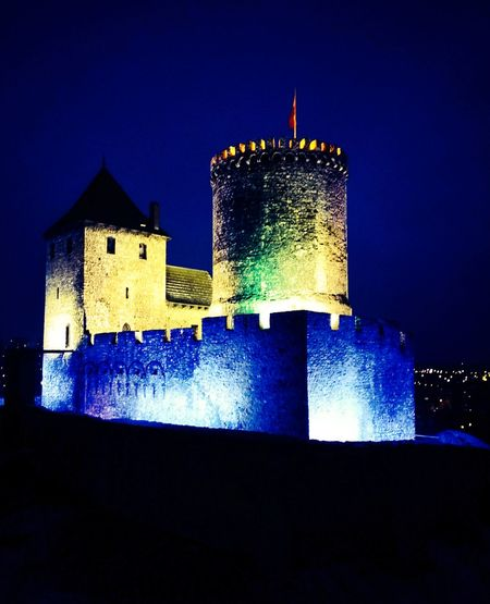 Illuminated History Sky Architecture Building Exterior Built Structure Castle Fort Old Ruin Fortress Medieval The Past EyeEmNewHere