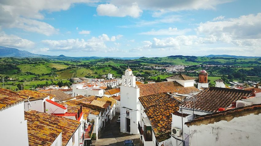White Vilage Jimena De La Frontera SPAIN Life Mountain Traveling Travel Photography Postcard View Looking For Adventures Church White Houses White Houses In Landscape Love Spain Mountain View Landscape With Whitewall Landscape Mountains