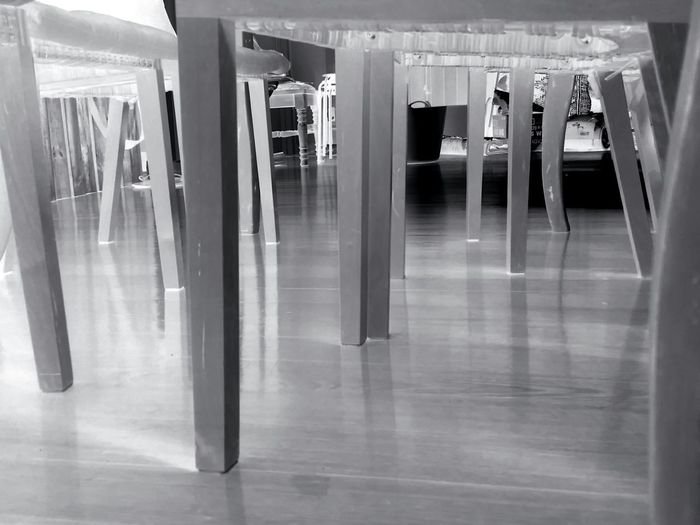 Architectural Column Built Structure Flooring Indoors  Interior Legs Legs Legs Legs Legs_only Reflection Table And Chairs Timber