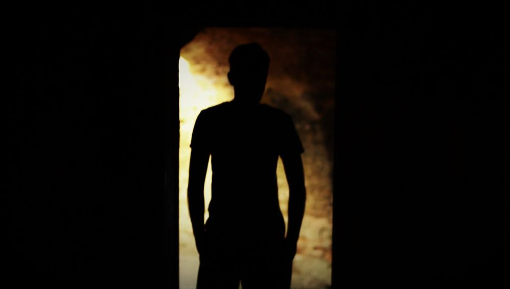 Hell Mysterious Person One Person People Mystery Shadows Silhouette Silhouette Photography Standing