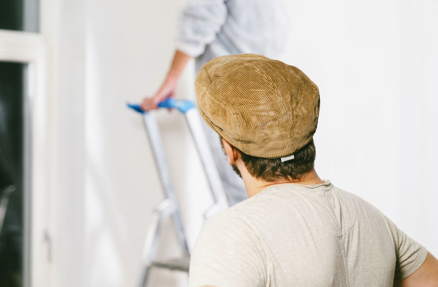 Colors DIY Home Paint Renovation Restauration Room Work Doityourself Fixit Handwork Handworking Job Painter Painting Renewable White