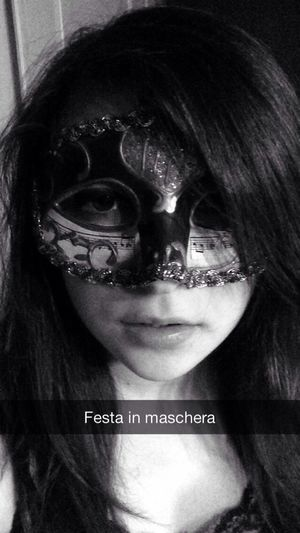 Mask Black And White That's Me