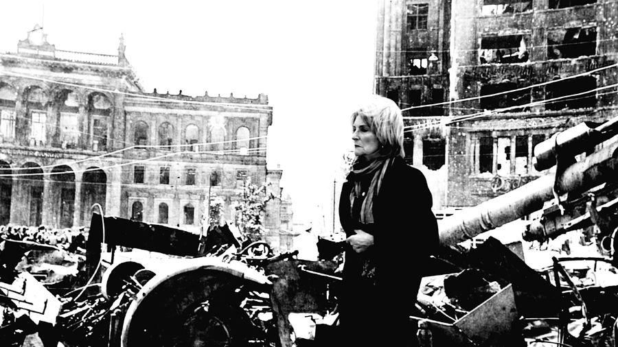 1945 x 2015 Open-Air-Exhibitions Open Edit Open Air Exhibitions Streetphotography Berlin Street Photography Blackandwhite Photography Monochrome Blackandwhite Berlin 1945 Spring In Berlin-May'45 End Of War