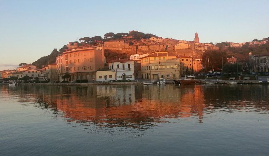 Castiglione Della Pescaia yesterday Early Morning (08/12/2014) Tuscany Toscana