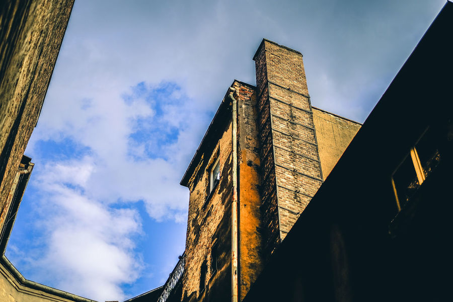 FUJIFILM X-T10 The Week On EyeEm Architecture Building Exterior Built Structure Cloud - Sky Day Fujifilm History Low Angle View Nature No People Outdoors Sky Wasiak