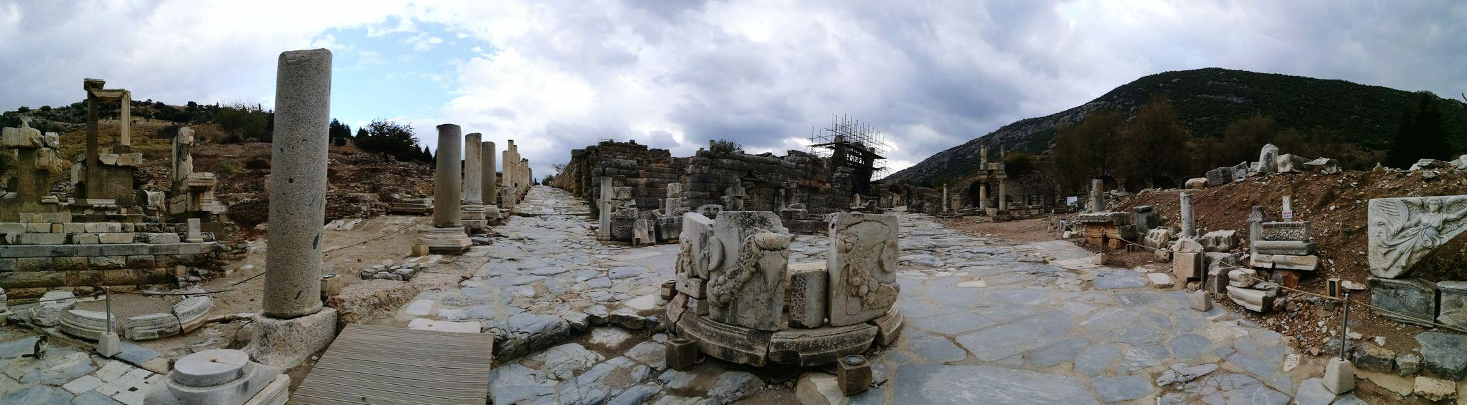 Amazing View Ephesus Ephesus Ruins Roman History Turkey Exciting Ephesus - Turkey Greek History Helenistik Wonderful View