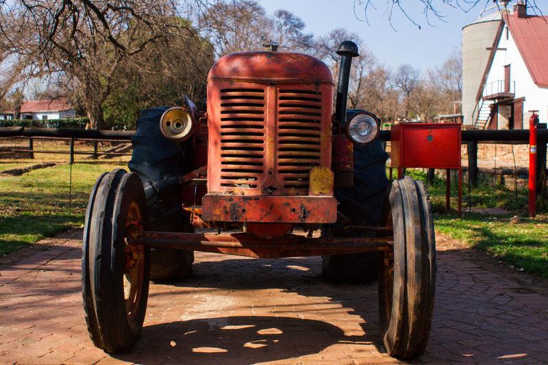 Old fashioned car
