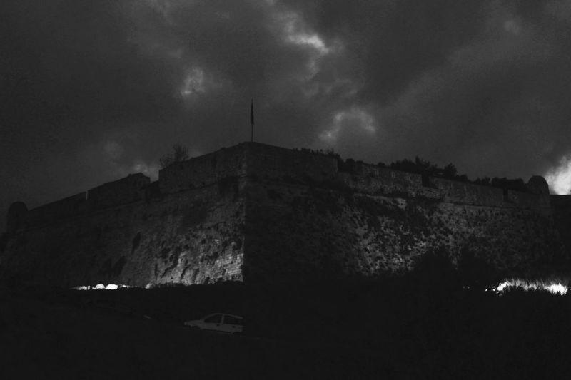 Castle Blackandwhite Blackandwhite Photography Rethymno Crete Hellas GREECE ♥♥ Greece