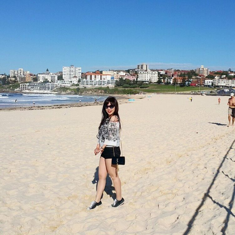 On the sand Bondi Beach Sydney (1 of 9) Bondi Bondibeach Sydney Australia Aussie travelmaniac travelers Photography 2015.04.28