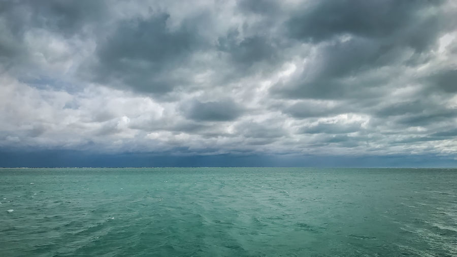 On approach... Storm Weather Beauty In Nature Cloud - Sky Day Horizon Over Water Nature No People Ocean Outdoors Scenics Sea Sky Storm Cloud Stormy Tranquil Scene Tranquility Water Waterfront