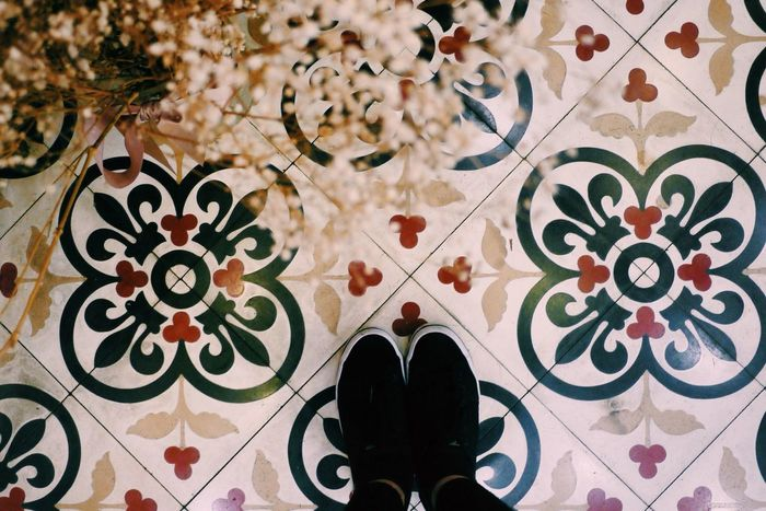 I Have A Thing With Floors VSCO Vscocam Tiles Keds