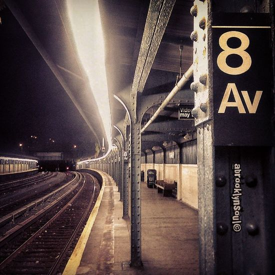 Late Nights x Early Mornings Subway Chinatown, Brooklyn Sunset Park