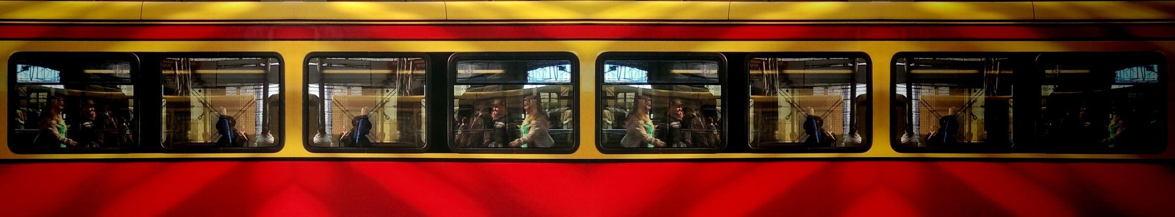 where are all the doors? Train People Urban Geometry Berlin