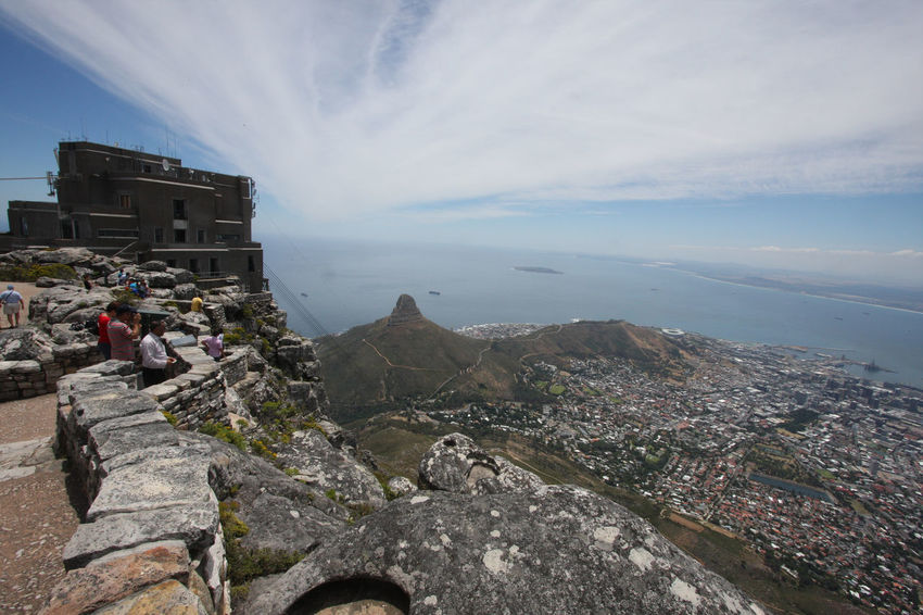 Cable Car Station Day Lions Head Mountain Nature Outdoors Rock Formation Scenics Sky Table Table Mountain Table Mountain View Tranquil Scene Tranquility
