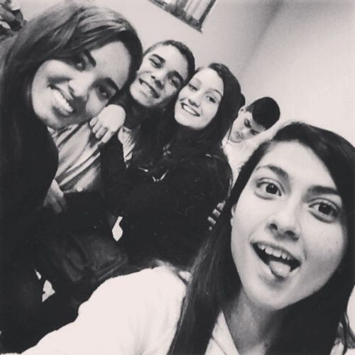 Friends Black & White Lovely BFF ♥