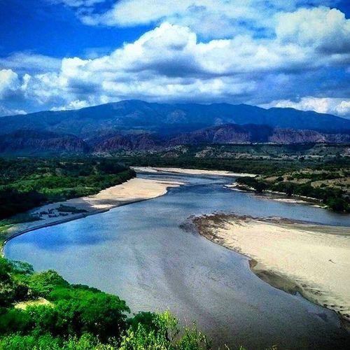 Represa de Betania Water River Water Mountains Mountain Mountain View Mountains And Sky Mountain_collection Sky Colombia