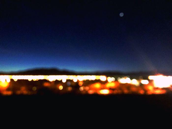 Fade Walkwithya Promisetobeback Walk Polaroid Style Night Illuminated Defocused Silhouette Sky No People Outdoors