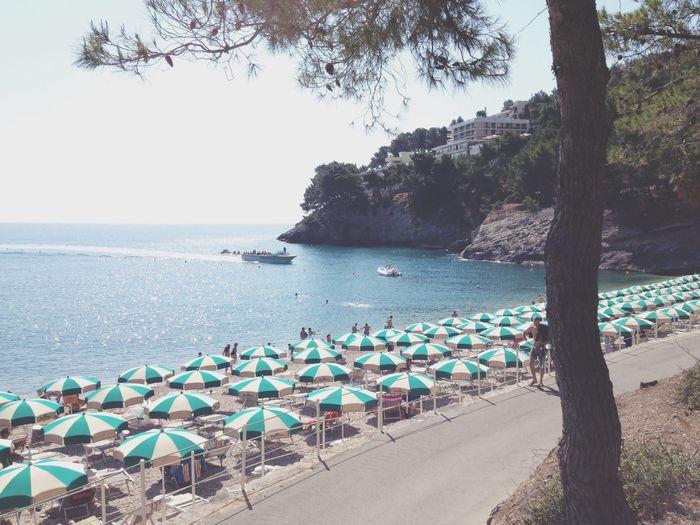 Holiday POV Relaxing Sea Beach Italy Enjoying Life