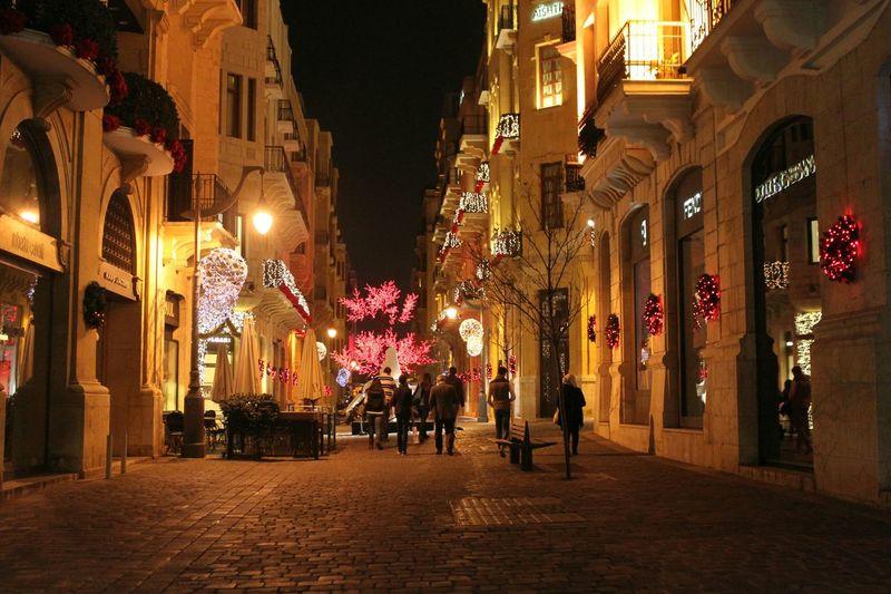 Cityscapes centre ville lebanone urban life style