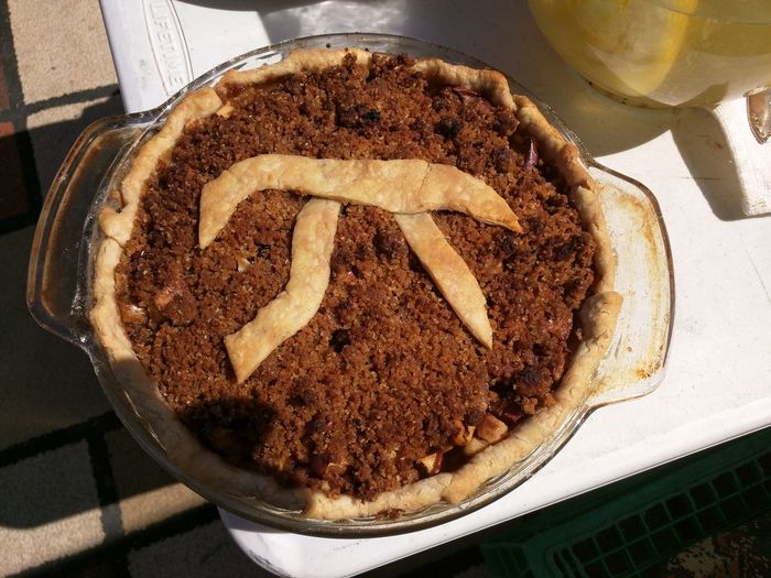 It's Pi Day! Nom Apple Pie Cake Close-up Day Dessert Food Food And Drink Freshness High Angle View Indoors  Indulgence No People People Pi Day Pie Pie Day Plate Ready-to-eat Sweet Food Temptation Unhealthy Eating