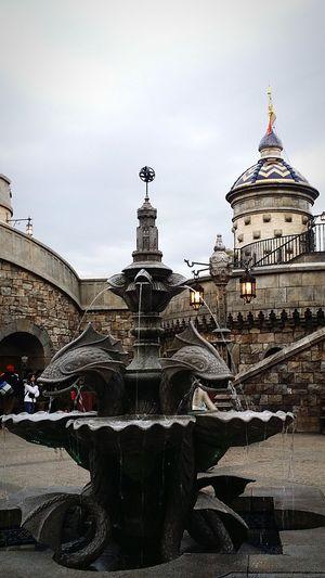 Medieval Architecture English Architecture Architecture Disneyarchitecture DisneySea Tokyodisneysea Theme Park Resort Tokyo Japan TokyoDec2016 JapanDec2016