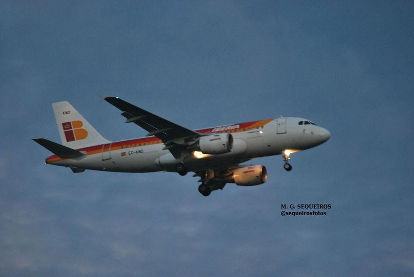 Iberia Avion Coruña Alvedro Photooftheday Photography Photographic Memory