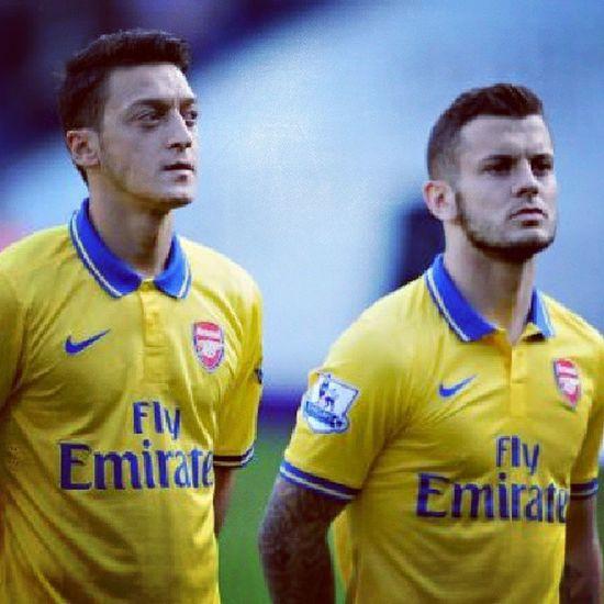 Yeah jack and ozil Arsenal Özil Jack Wilshere gooners