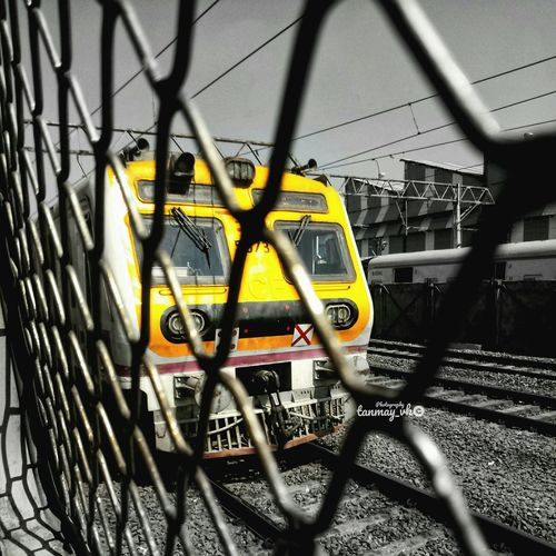 Trains are love Mobilephotography Wallpaper Bokeh Photography Technology Shadow Communication Close-up Graffiti