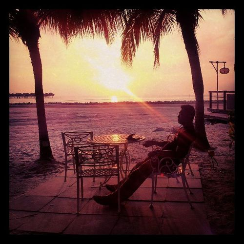 Sunsetting wz ♥ ... beautiful!! 10thyranniversary Sepang Goldenpalmresort Justtwoofus bliss