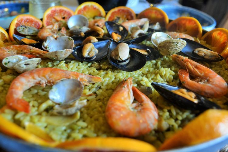 Abundance Alimentazione Close-up Day Focus On Foreground Food Freshness Gamberoni Gustoso Indulgence Mangiaresano Meal No People Organic Paella Paellasgigantes PaellaValenciana Ready-to-eat Riso Seafood Selective Focus Served Serving Size Still Life Temptation