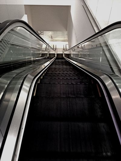 The longest stairways ever in the history of mankind. You can reach another galaxy if you take it.