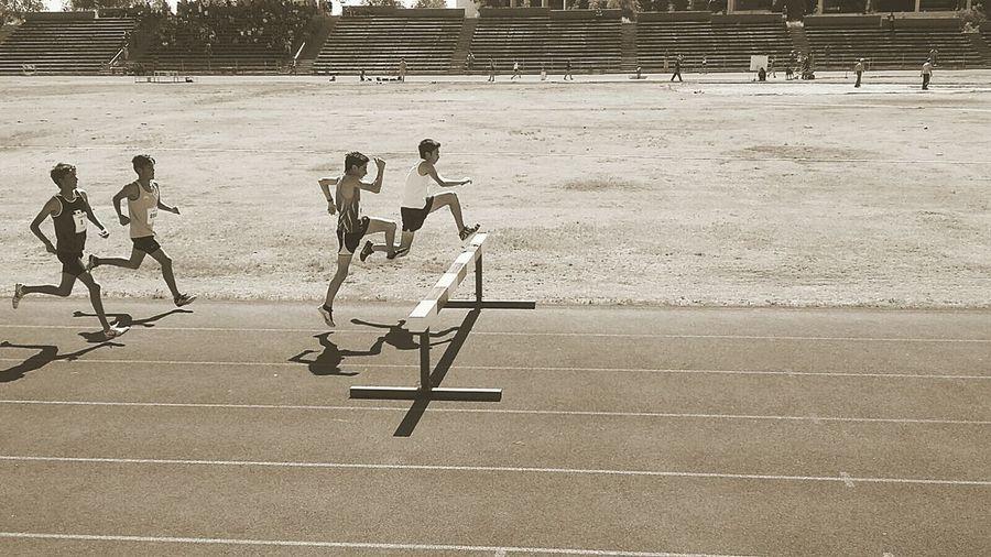 Obstaculos :') Atletismo Santiago De Chile Obstaculos Nacional