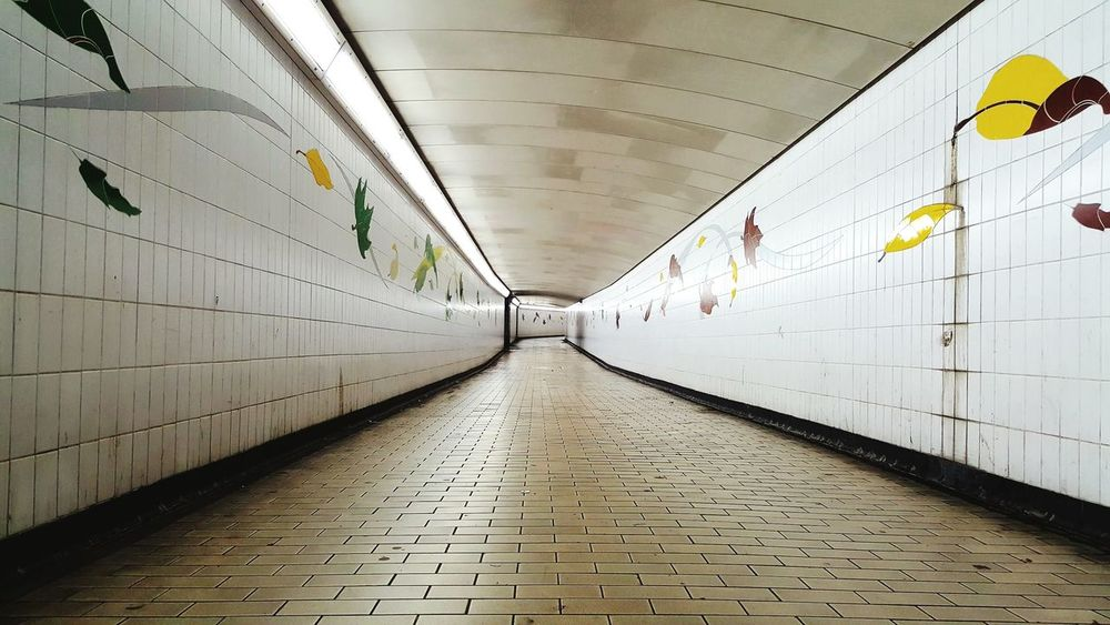 Empty Tunnel No People The Way Forward Architecture Built Structure Illuminated Indoor Lighting Hyde Park Corner Empty Places Pedestrian Subway Subway