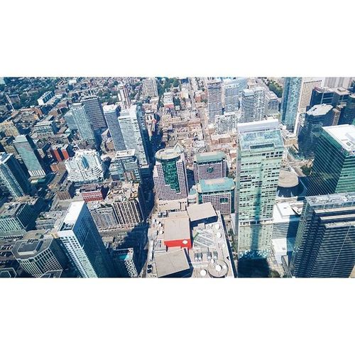 Toronto Tourism Travel Towers Archilovers Architecture Bigcity Canada Northamerica High Lookingout Lookingdown