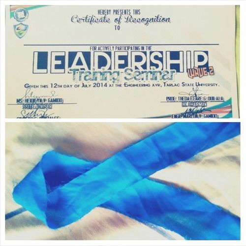 LeadershipTrainingSeminar Yesterday ZaidoBlue ? 2nd ?