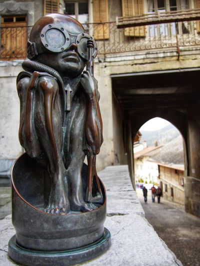 Statue Built Structure Sculpture No People Travel Destinations Close-up Art Is Everywhere Art The Week On EyeEm EyeEmSwiss Gruyères Gruyere Switzerland Giger Museum H.R. Giger Giger Eyeem Switzerland Statue Switzerlandpictures