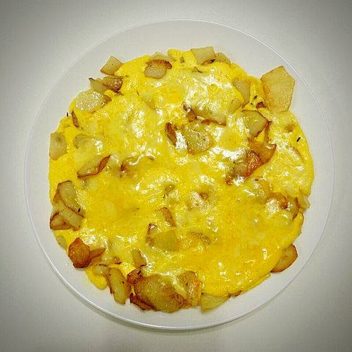 Fried Potatoes with Cheese CHEEZY FRIES!!! Food Fried Noodles