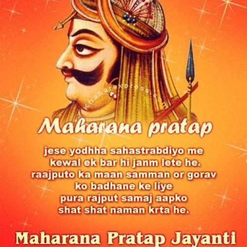 Grand tributes Thelegend .. MaharannaPratap on his birth anniversary. HappyMaharanaJayanti MaharanaPratapJayanti