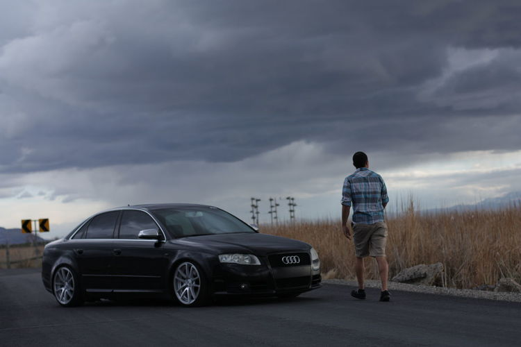 Audib7 Audi A4 Audia4 Quattro Audilove German Engineering Low_restriction Static Cloudy Sky Rotiform