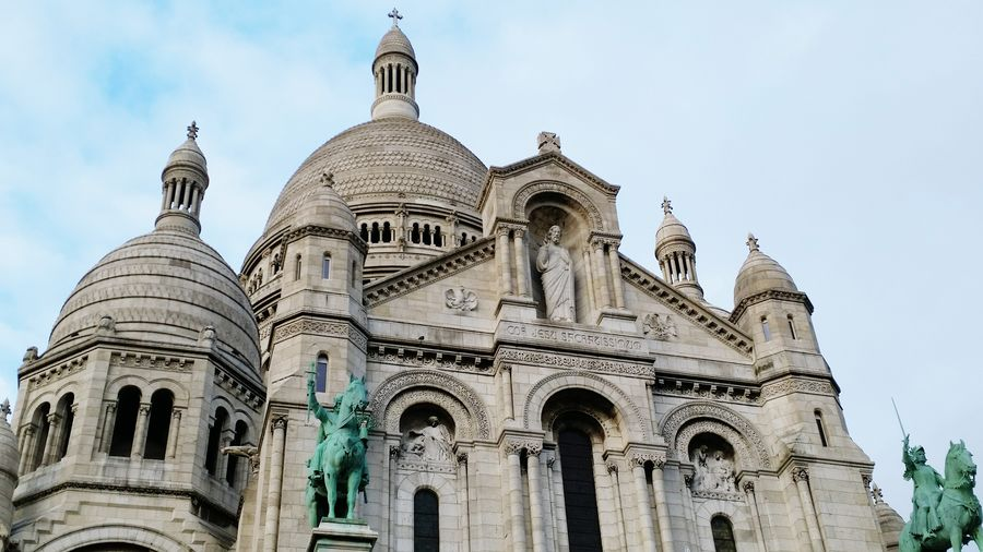 Sacré-Coeur Basilica Paris Architecture Old Buildings Historical Building History France Worldheritagesite