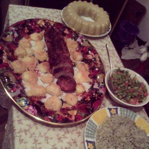 Dinner Bye2013 Hello2014 Eat bymom deliciuos night