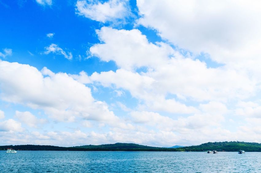 Sky Nature Cloud - Sky Blue Sea Beauty In Nature Outdoors Landscape Phu Quoc Phuquoc