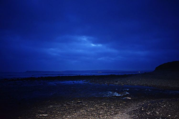 Distant Light Sea Water Beach Nature Scenics Horizon Over Water Beauty In Nature