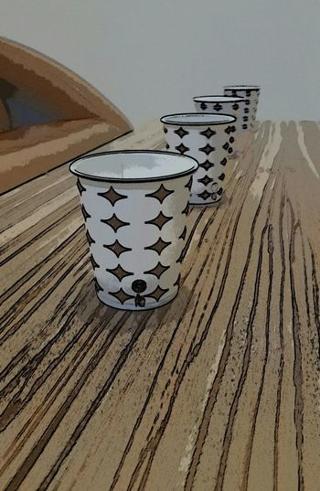 Cups On Table